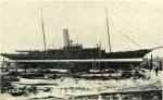 12. ID BF69_001_033_006 Steam Yacht ROSABELLE on slipway. 614 tons (Thames Measurement) [from page 44]. From Aldous catalogue, c1936