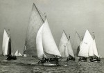 30. ID BOXB5_017_038 Brightlingsea, West Mersea and Colchester smacks racing in the Blackwater & Colne estuary after 1930. [DW]