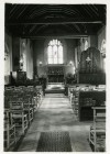 2. ID IA003720 St. Mary's Church, Salcott. The church still has oil lamps. Photo thought to be between 1935 and 1960.
