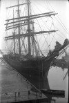 8. ID GRW_087 Barque ALASTOR - either in Millwall Dock London or Birkenhead. Probably 1930s.