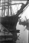 9. ID GRW_088 Barque ALASTOR - either in Millwall Dock London or Birkenhead. Probably 1930s.