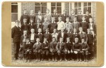 11. ID MMC_2007_10_012C_001 Taken at West Mersea School. Reginald Moyse, then 12, is in second row from the back, third from the right - caption from back of photograph. See ...