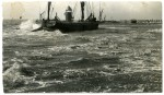 1. ID RG06_011 Barge LADY GWYNFRED of Rochester ashore in a gale at Brightlingsea. Douglas Went postcard. Brightlingsea Promenade. Postcard mailed 26 March 1938. A similar ...